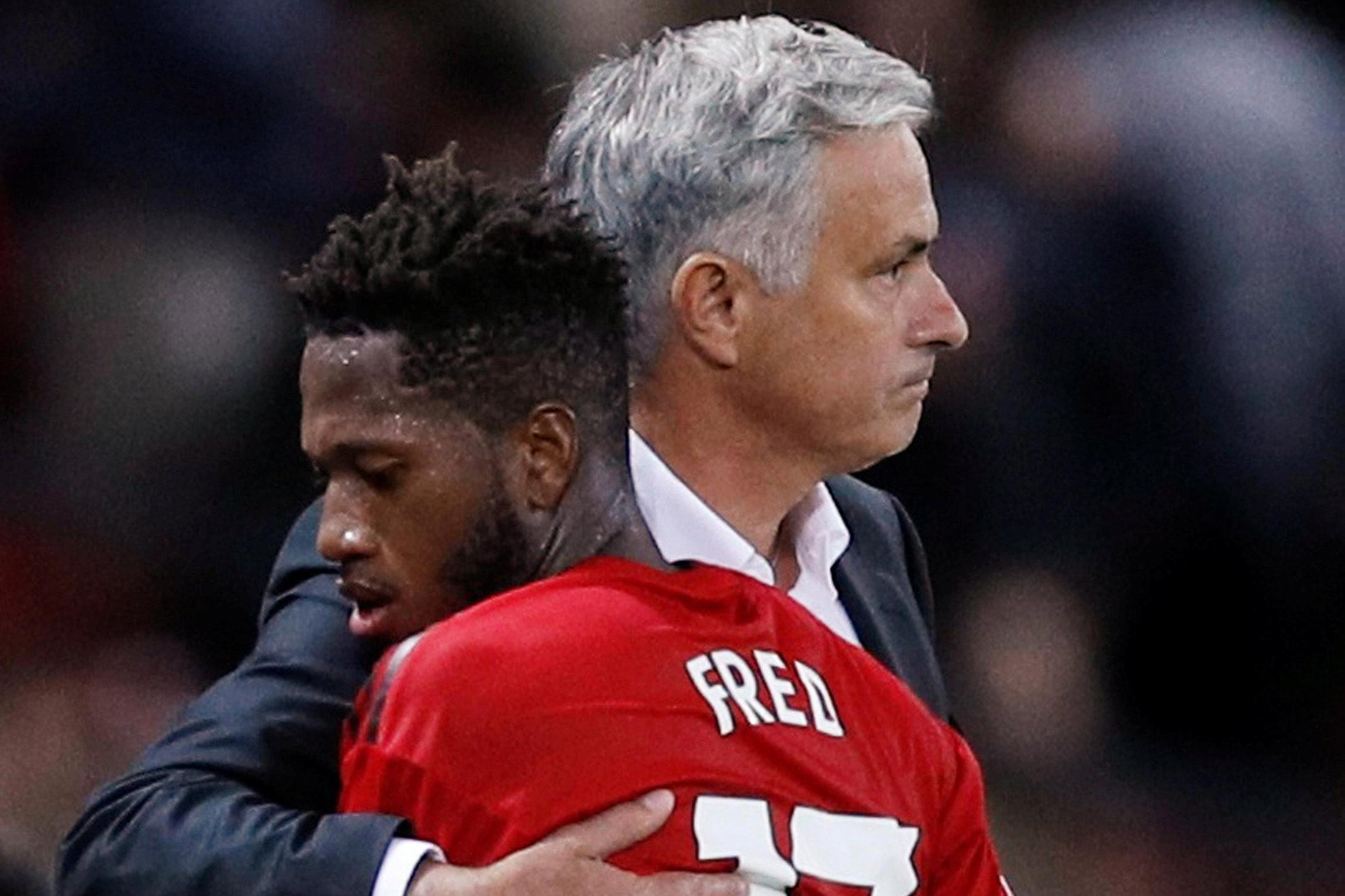 Jose Mourinho told Fred he would be part of his 'dream' midfield at Manchester United