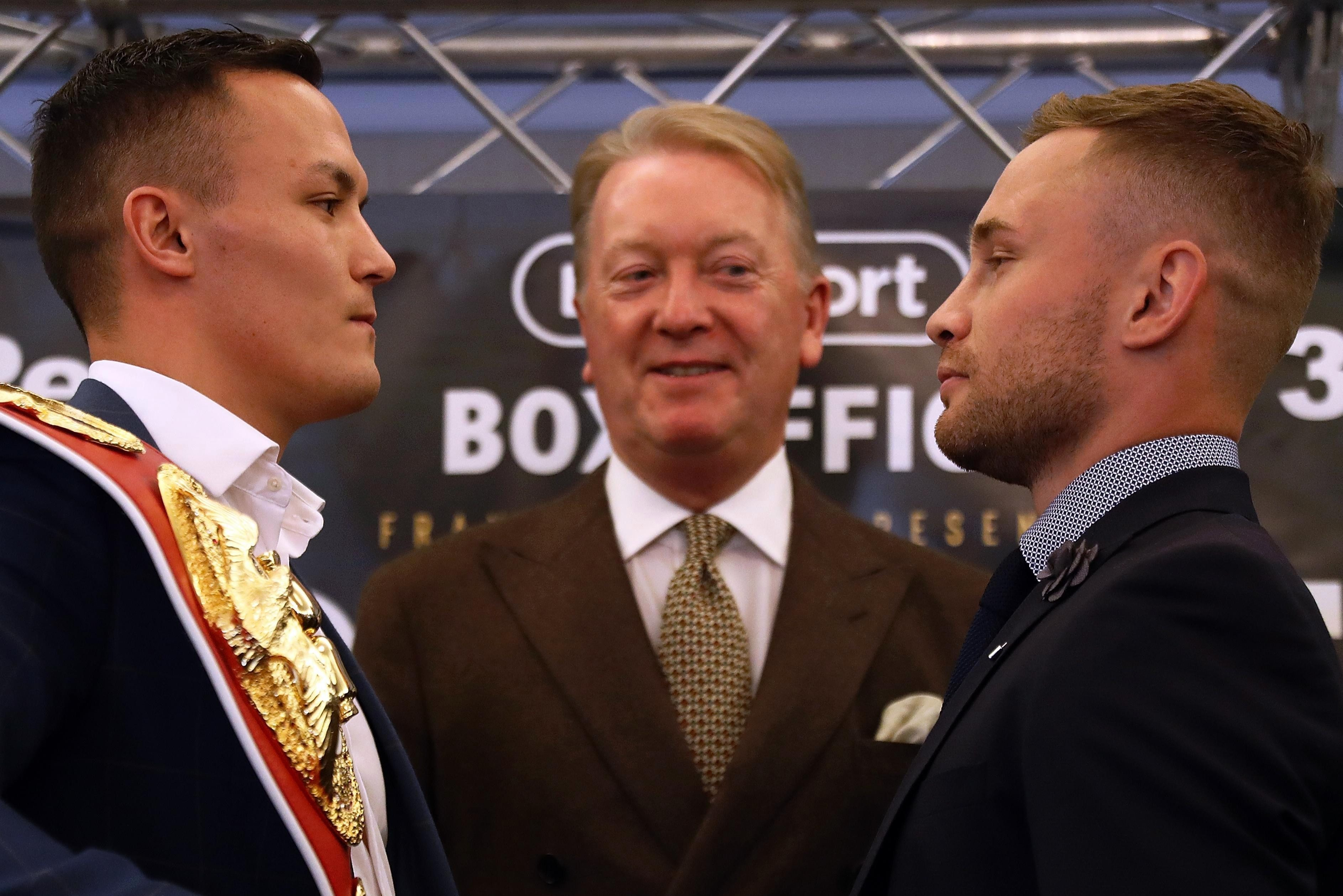 Warrington vs Frampton: Live stream, TV channel, start time, tickets and undercard for the featherweight world title fight