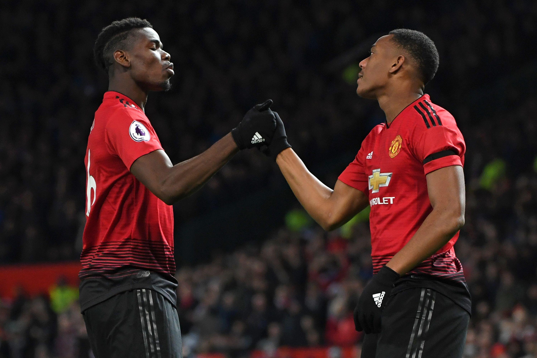 Paul Pogba 'high-fived Man Utd team-mates' after Jose Mourinho was sacked