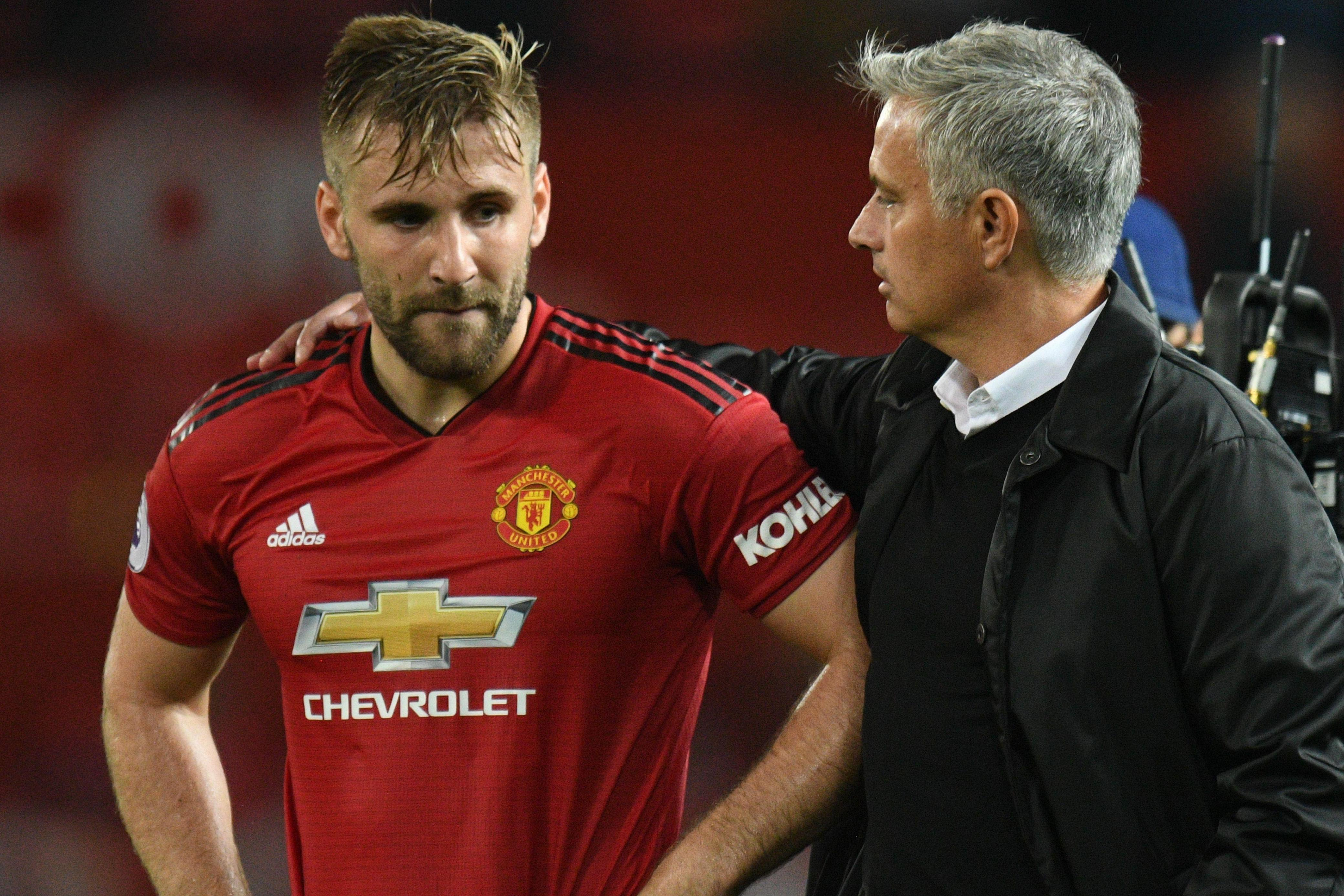 Shaw fit to face Cardiff after final Mourinho bust-up saw him axed for last two Man Utd games
