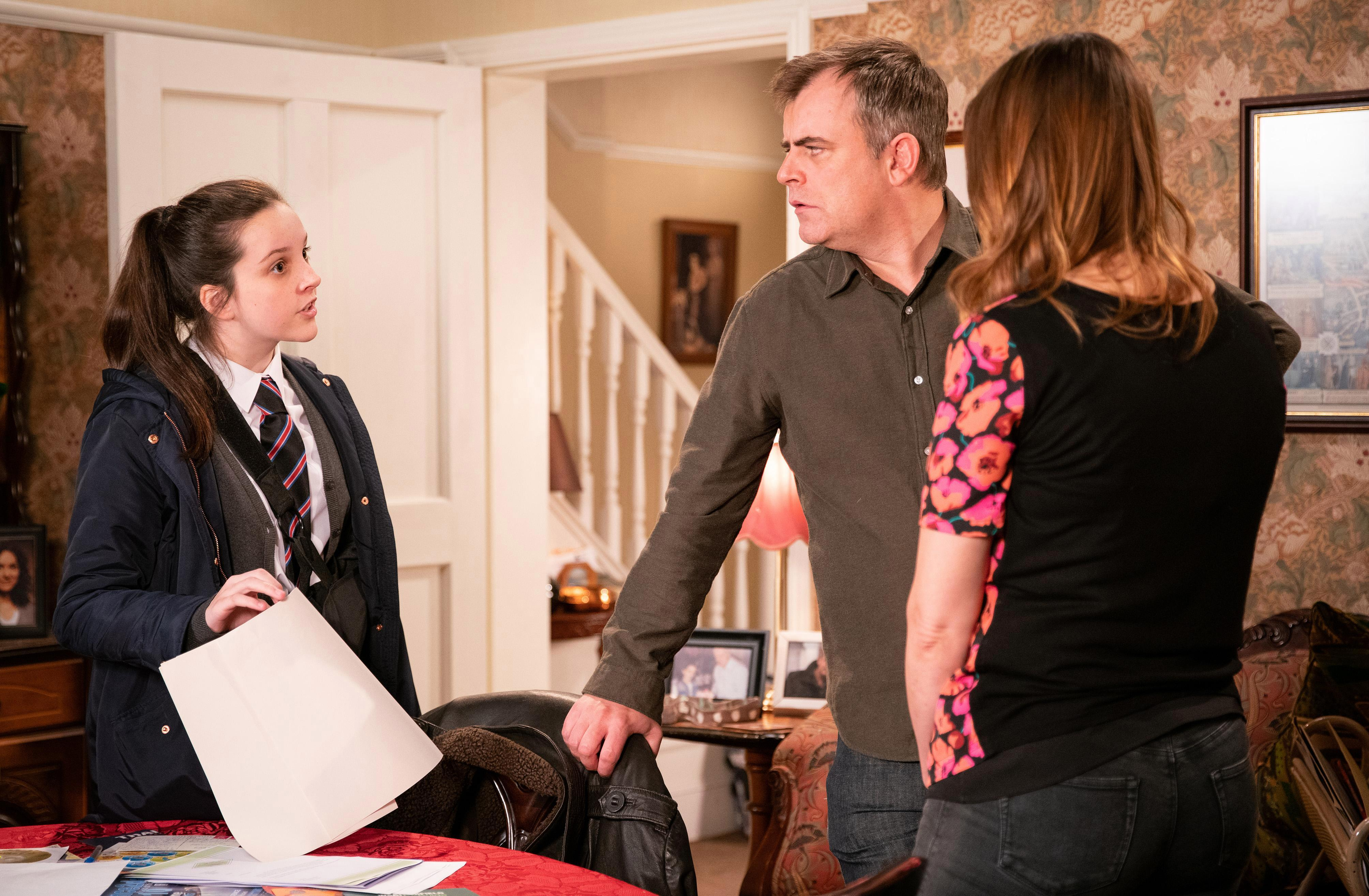 Coronation Street spoilers: Amy Barlow's baby's dad revealed as Tyler – and she wants mum Tracy to adopt the baby