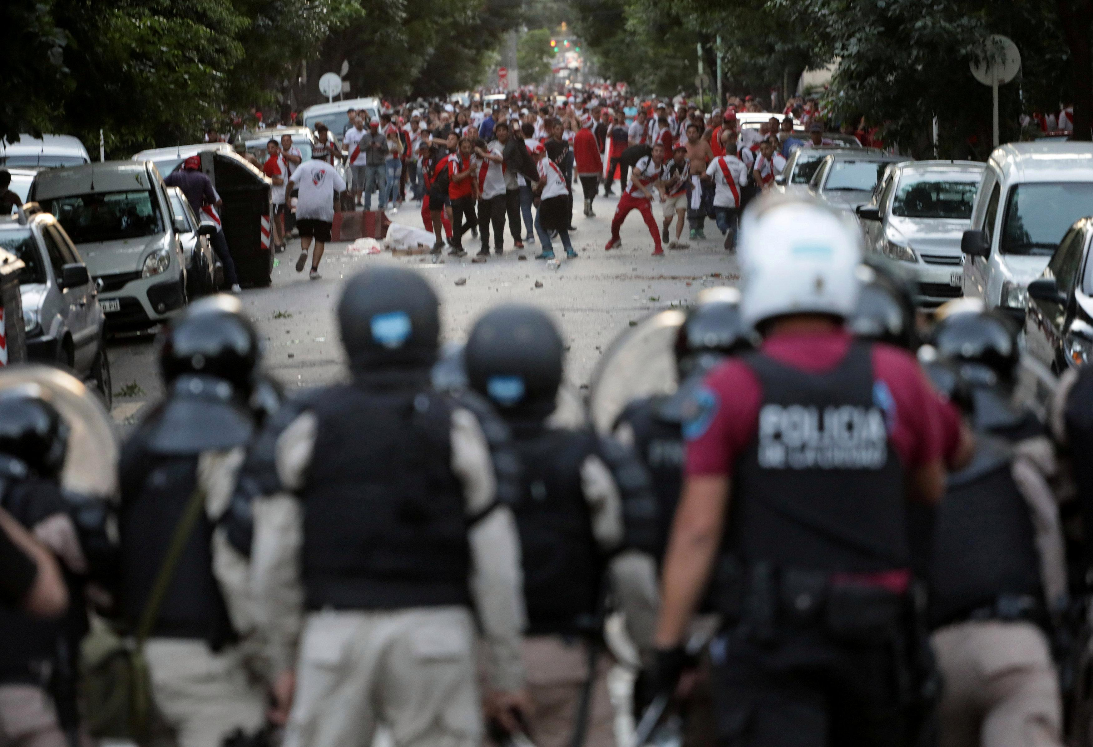 Argentina's football yobs are criminal gangs who take a slice of transfer fees and impose tax on street traders