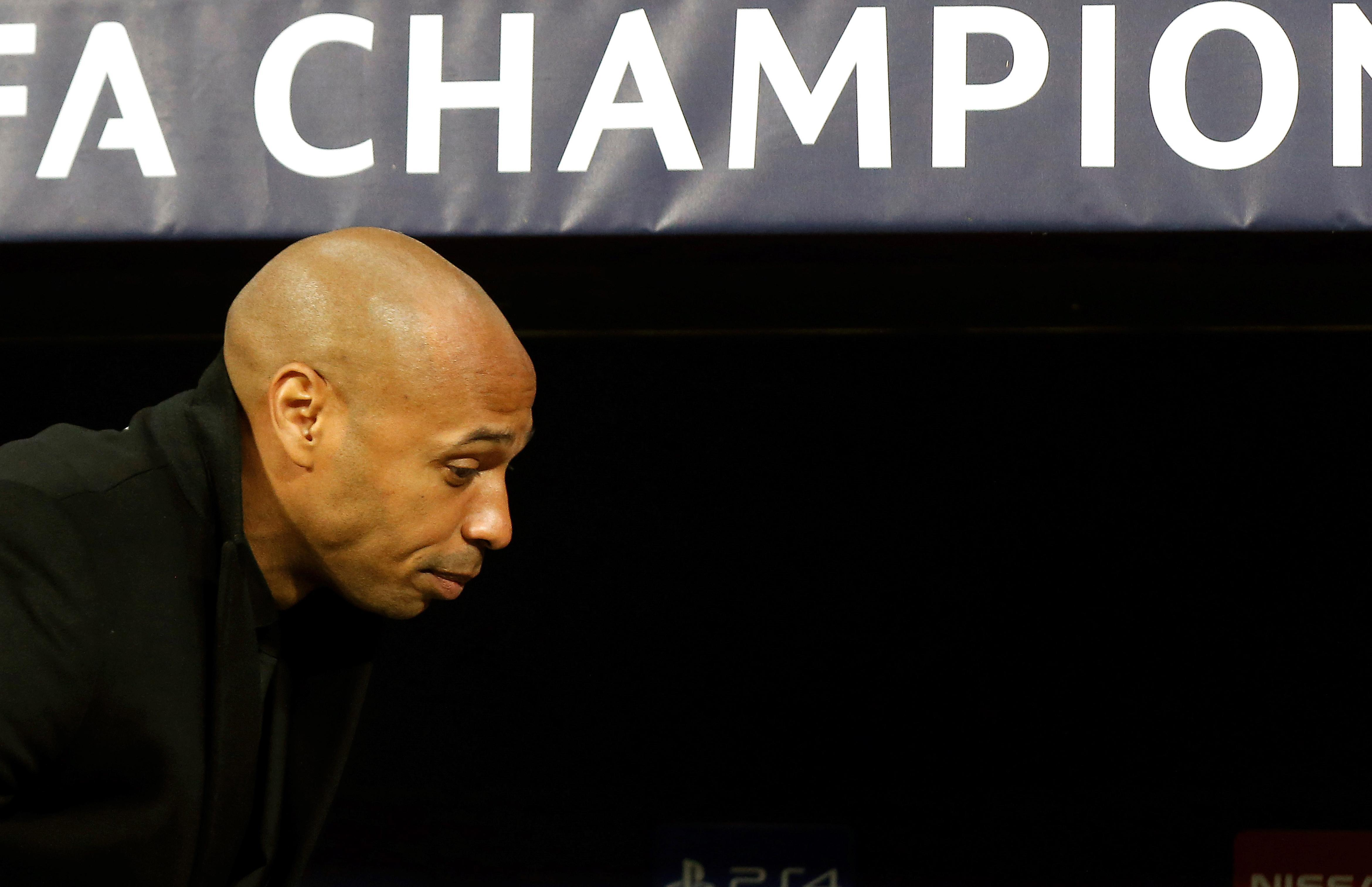 Thierry Henry's Monaco injury crisis deepens with 14 players out against Amiens
