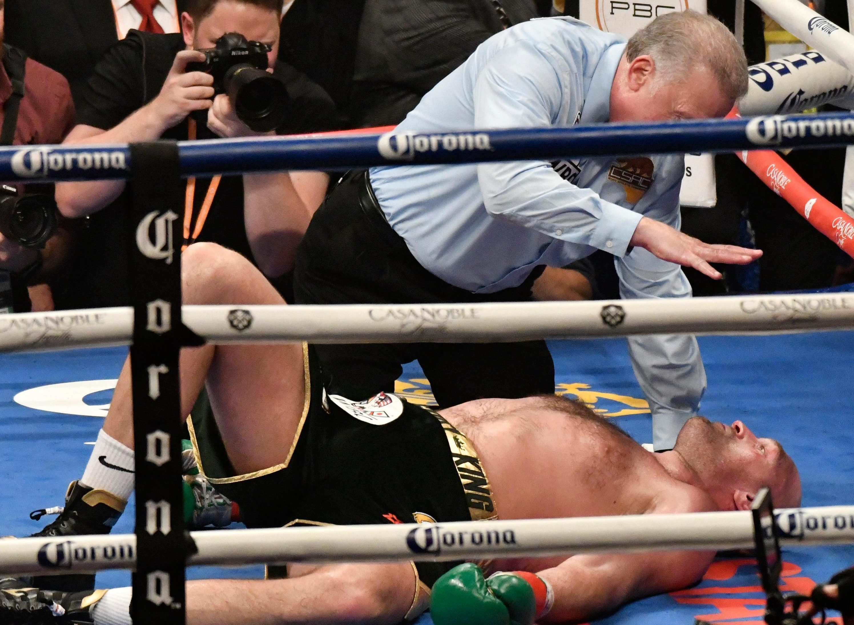 Deontay Wilder referee Jack Reiss defends Tyson Fury ten count and blast 'knuckleheads' claiming it was slow