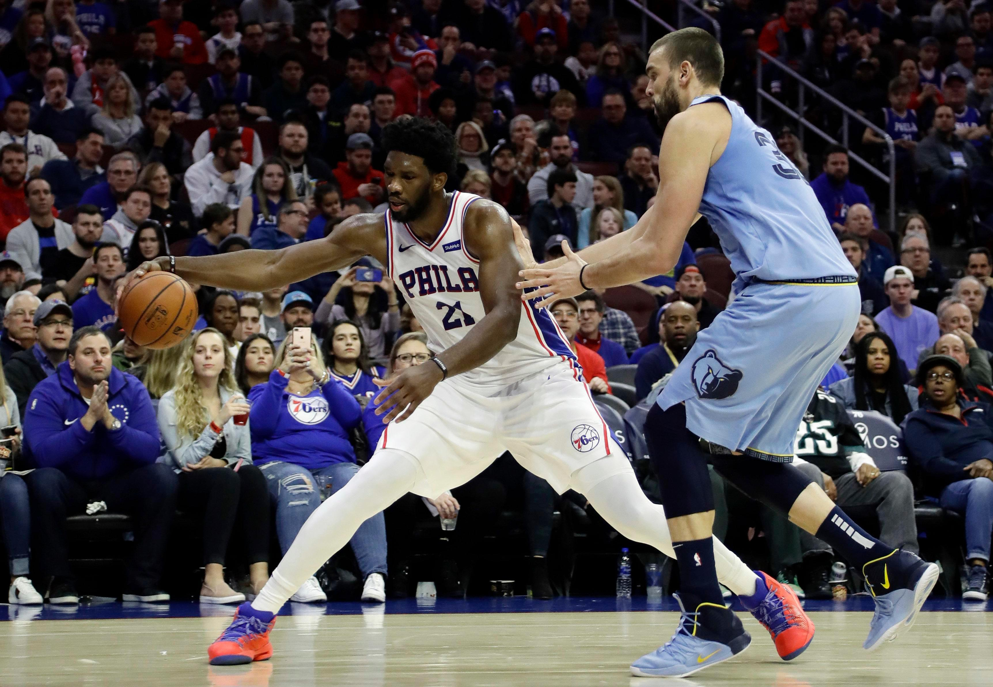 Joel Embiid only started basketball at 16 – but the Philadelphia 76ers star is making good on promise to be one of the best ever