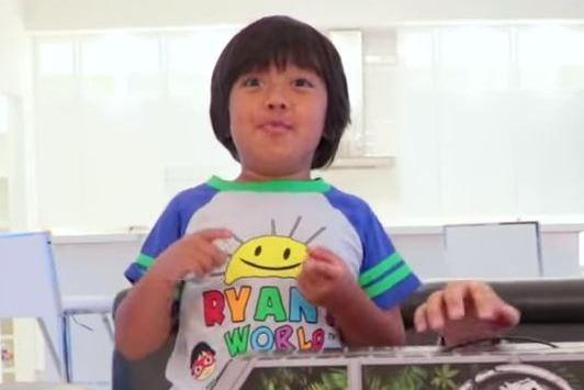 Boy, 8, behind Ryan ToysReview tops list of highest-earning YouTube stars after raking in £17million this year – beating Logan Paul and Jeffree Star