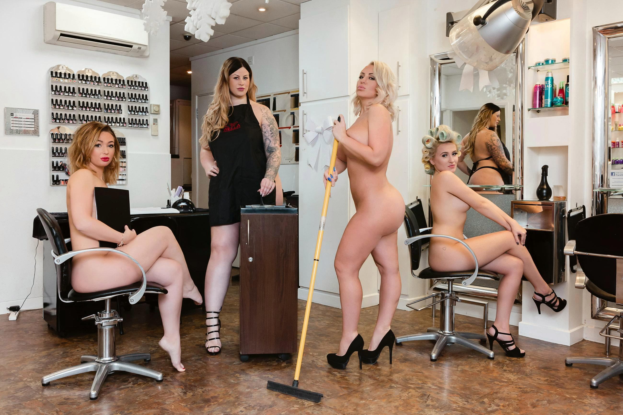 Entire Kent village strips off for saucy calendar to raise money for charity