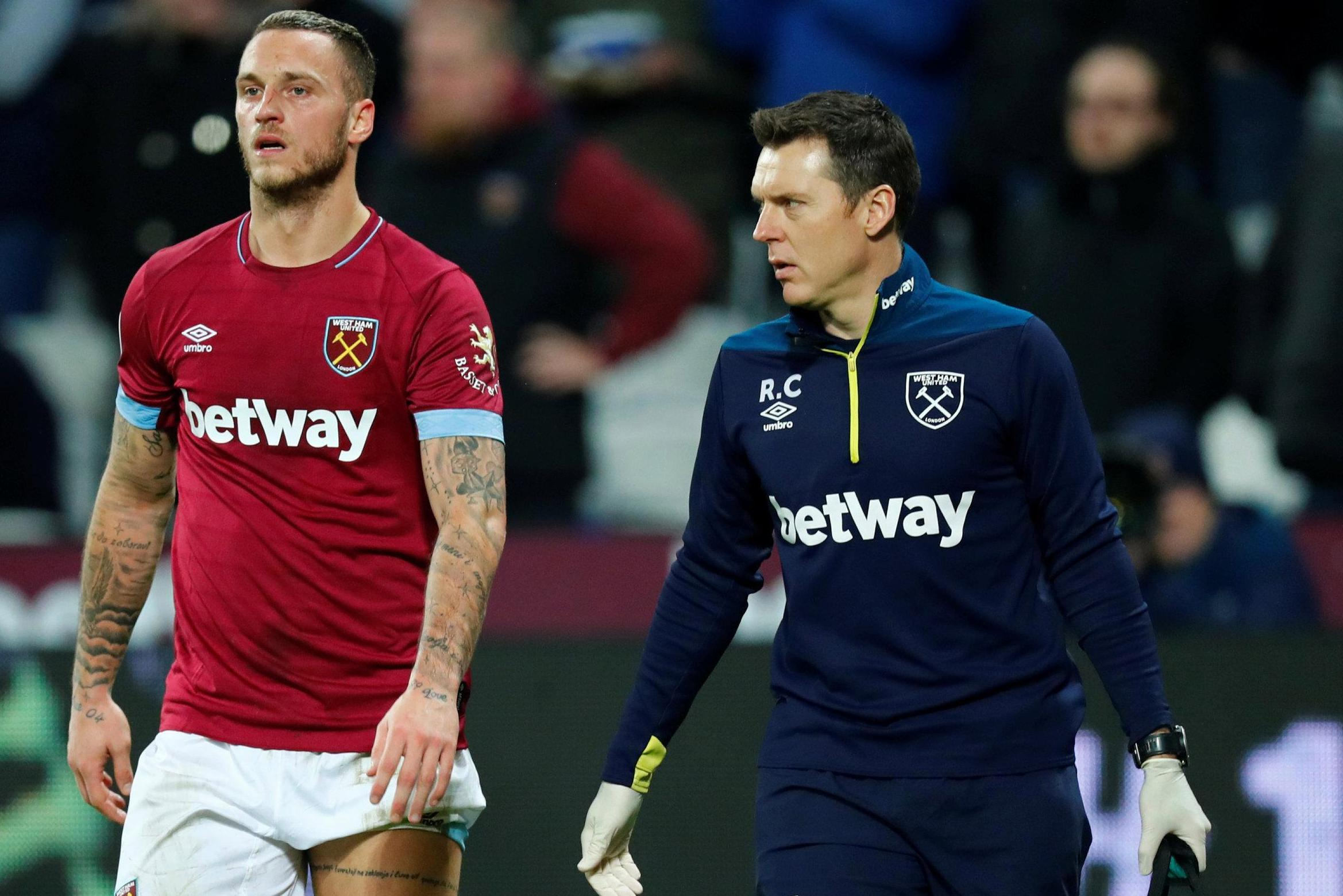 West Ham striker Marko Arnautovic ruled out until New Year with hamstring injury