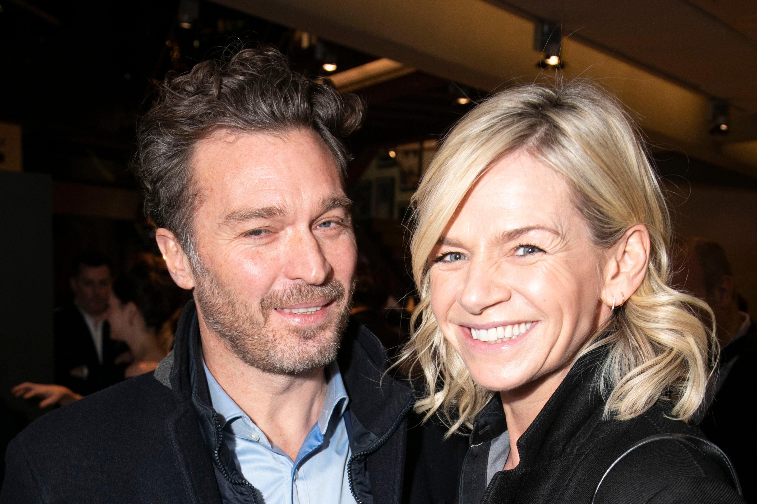 Zoe Ball beams as she makes first red carpet appearance with boyfriend Michael Reed