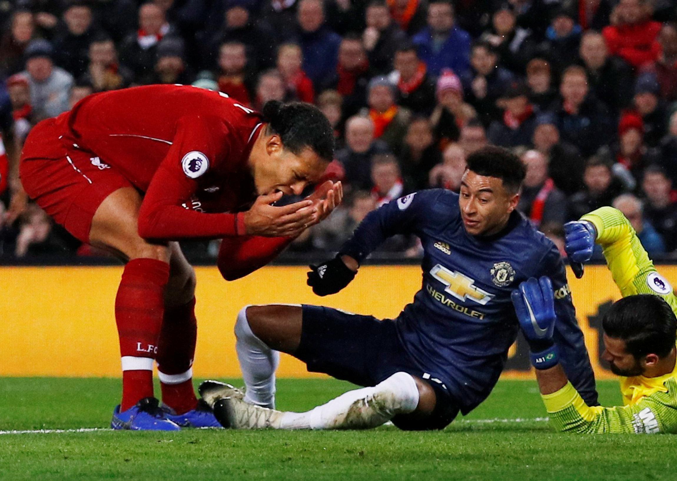 Virgil van Dijk reveals he gave Alisson dressing down over Man Utd gaffe