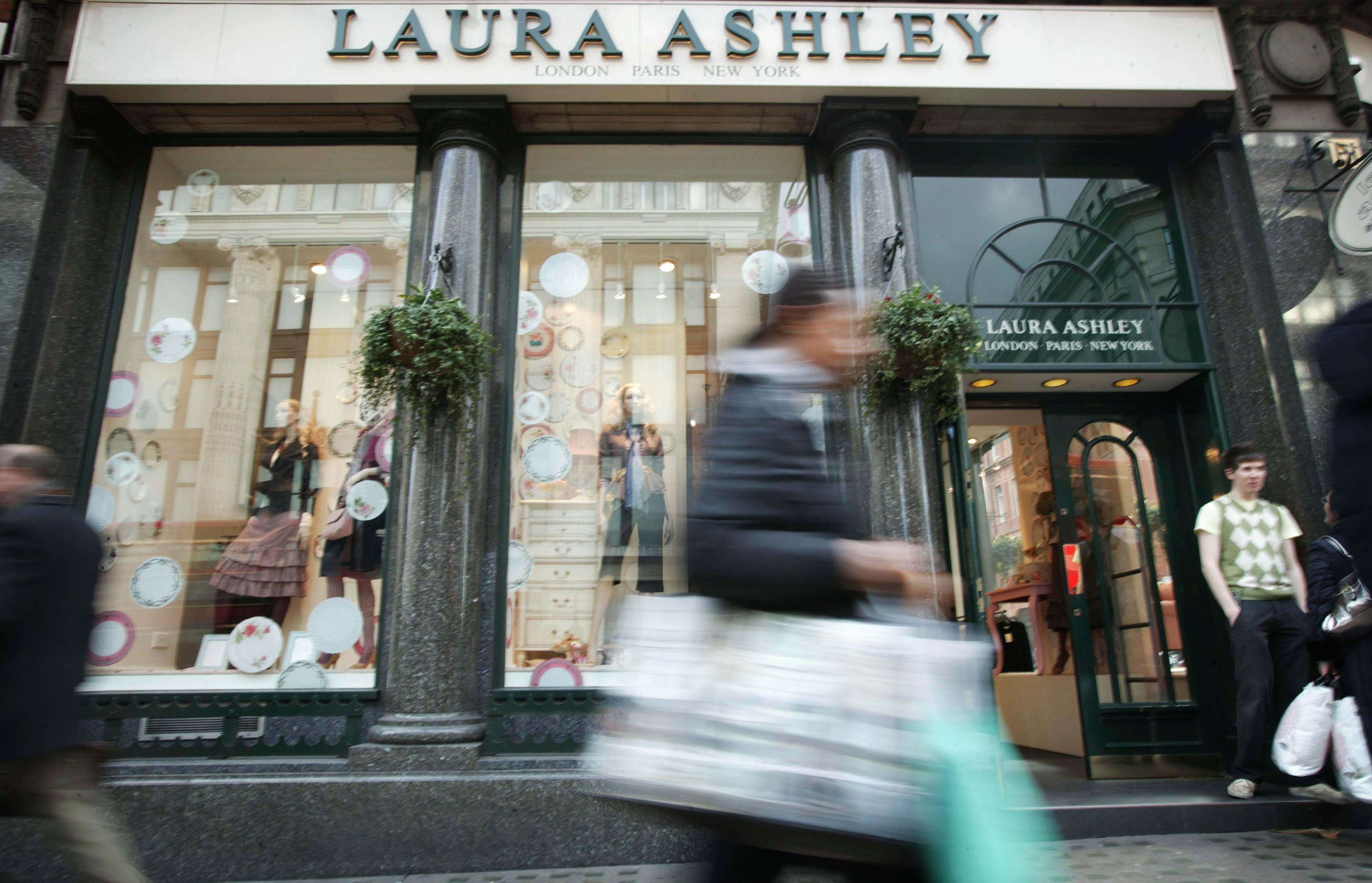 Laura Ashley to close another 40 more stores in the UK putting dozens of jobs at risk