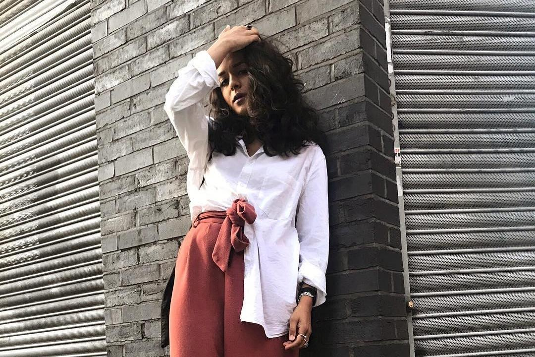 Fashion blogger, 22, used oversized clothes to hide tumours on her hips