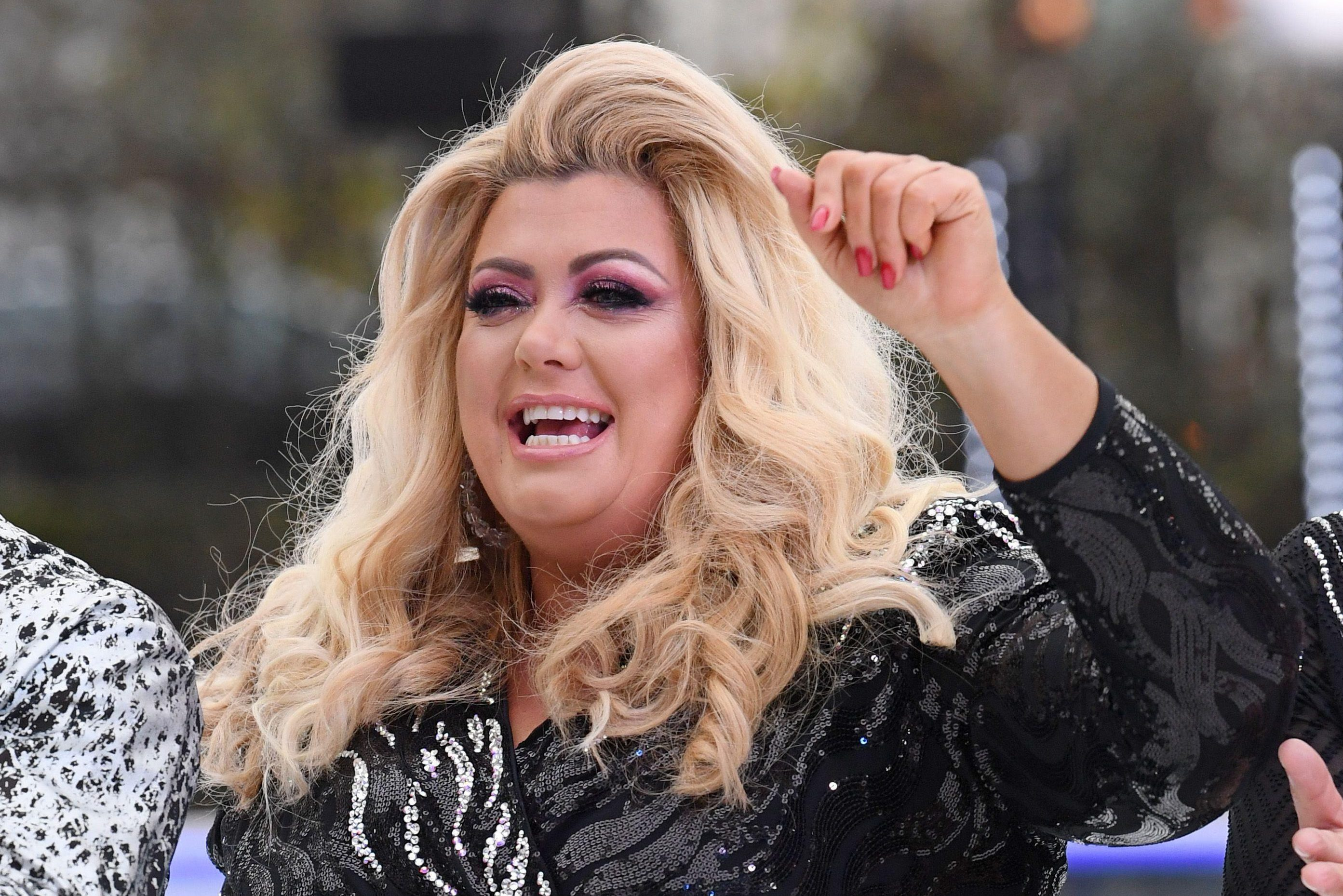 Gemma Collins shows off weight loss after dropping a dress size before Dancing On Ice launch