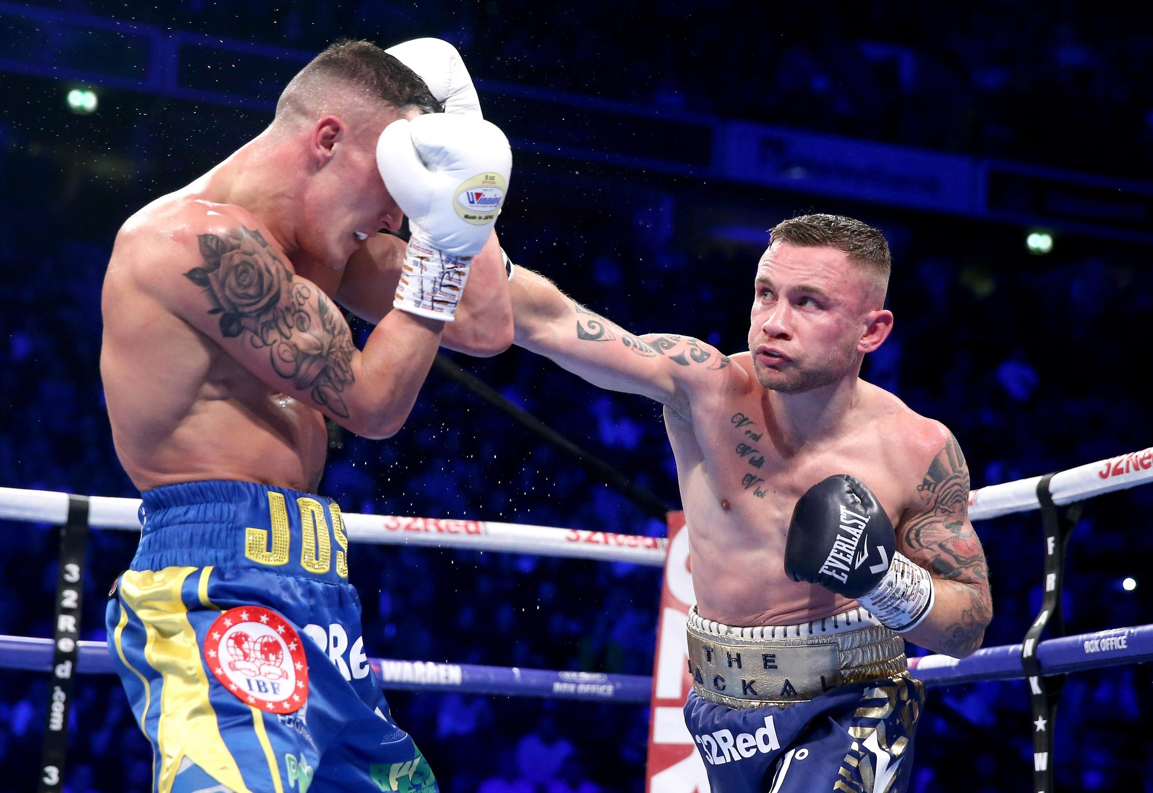 Carl Frampton leaves retirement up in the air and says 'I don't want to think about boxing for a while'