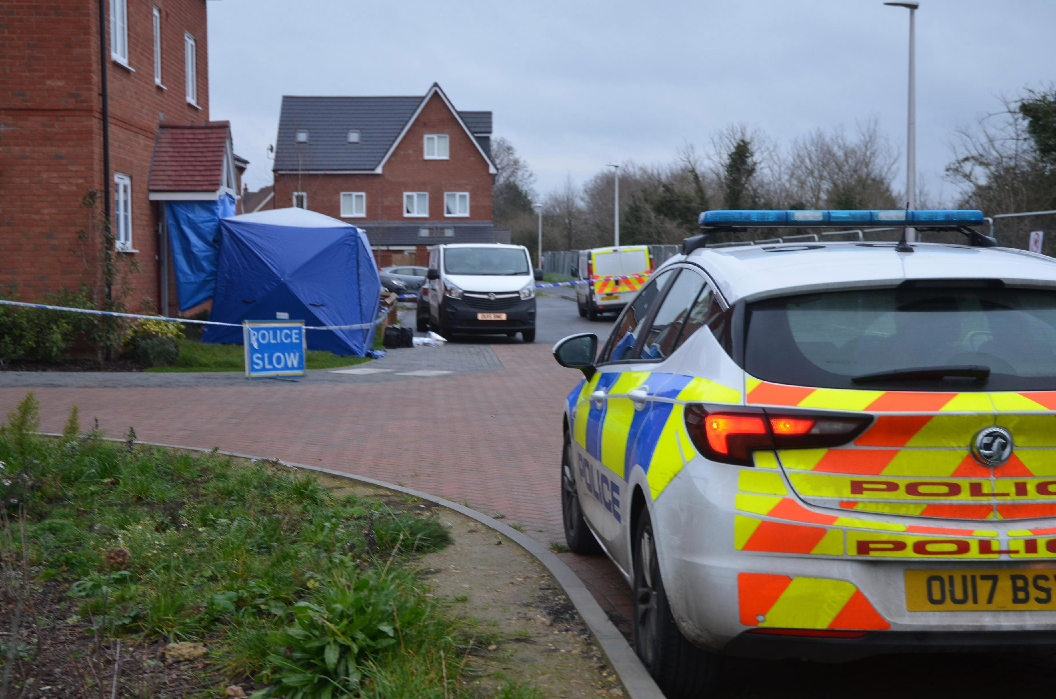 Man, 47, arrested on suspicion of murder after woman's body is found at a house on Boxing Day morning