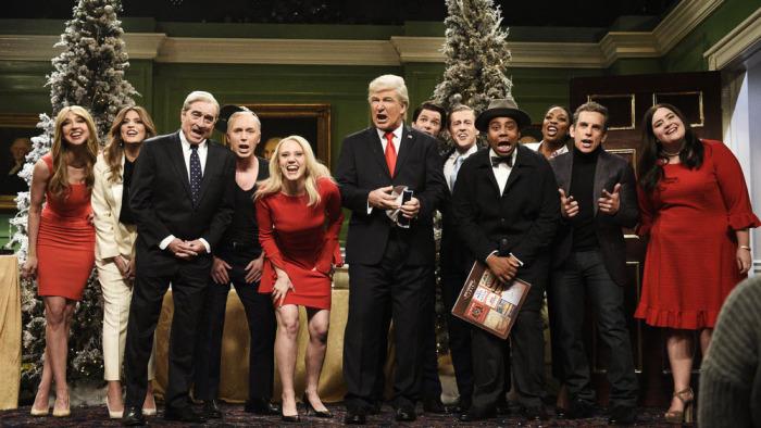 'Saturday Night Live': Ben Stiller, Robert De Niro and Alec Baldwin Return for 'It's A Wonderful Trump' (Watch)