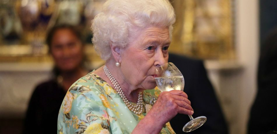 No, The Queen Doesn't Really Drink A Glass Of Champagne Every Night And A Gin In The Morning