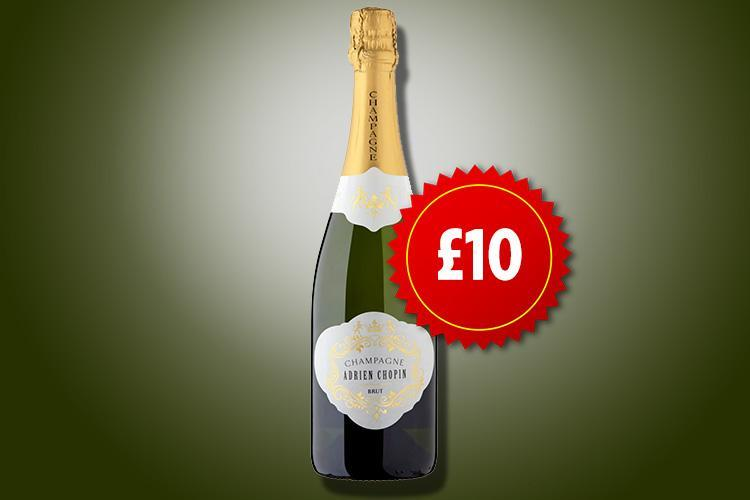 Morrisons is selling bottles of its award-winning champagne for £10