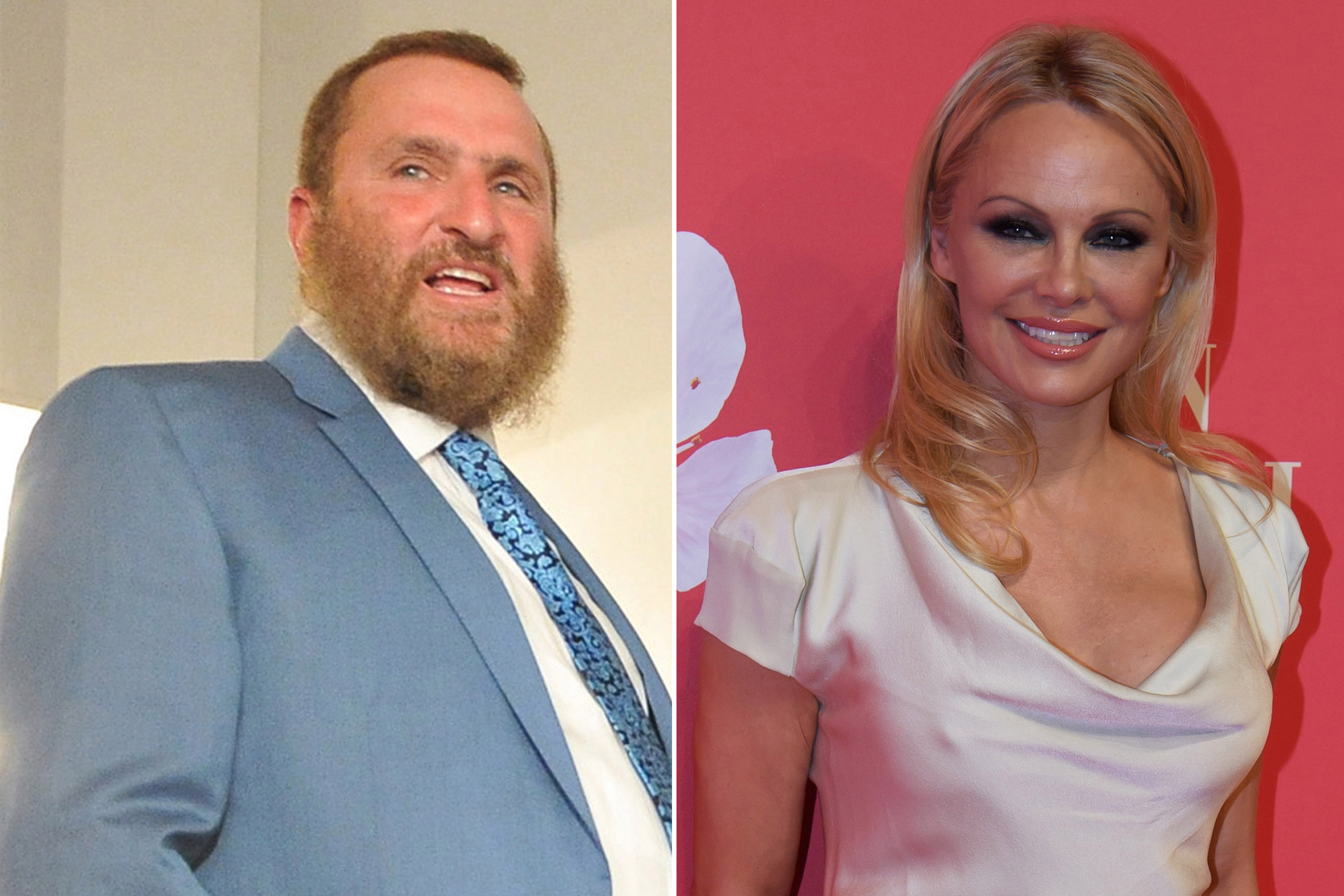 Rabbi Shmuley Boteach on Pam Anderson at his Shabbat dinner