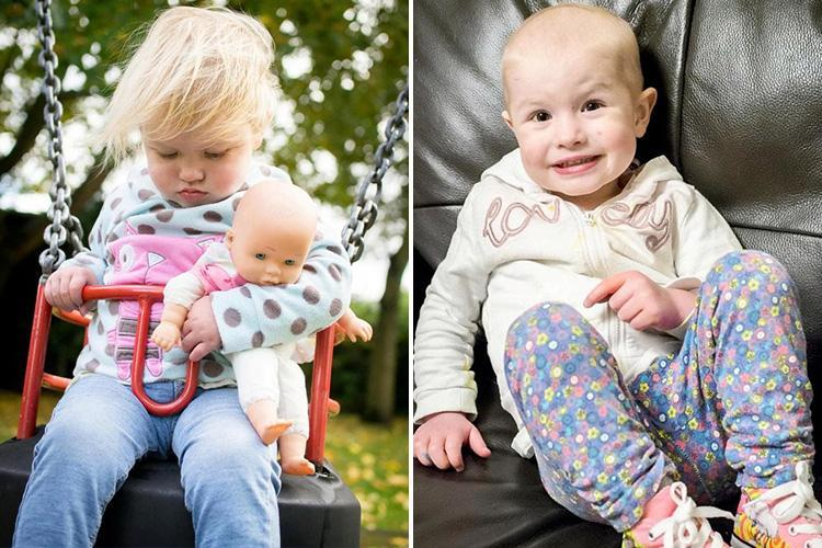 Adorable photo of toddler falling asleep on a swing contained hidden clues she had cancer