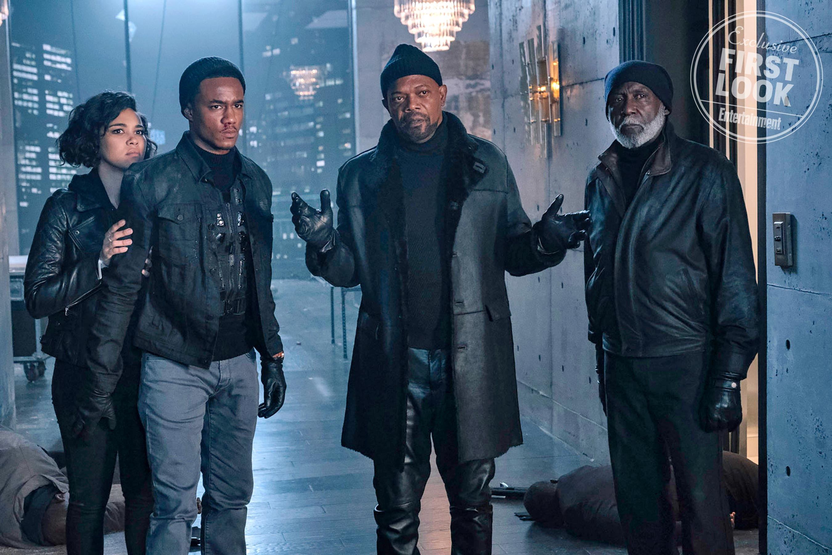 Samuel L. Jackson suits up again as Shaft in exclusive first look