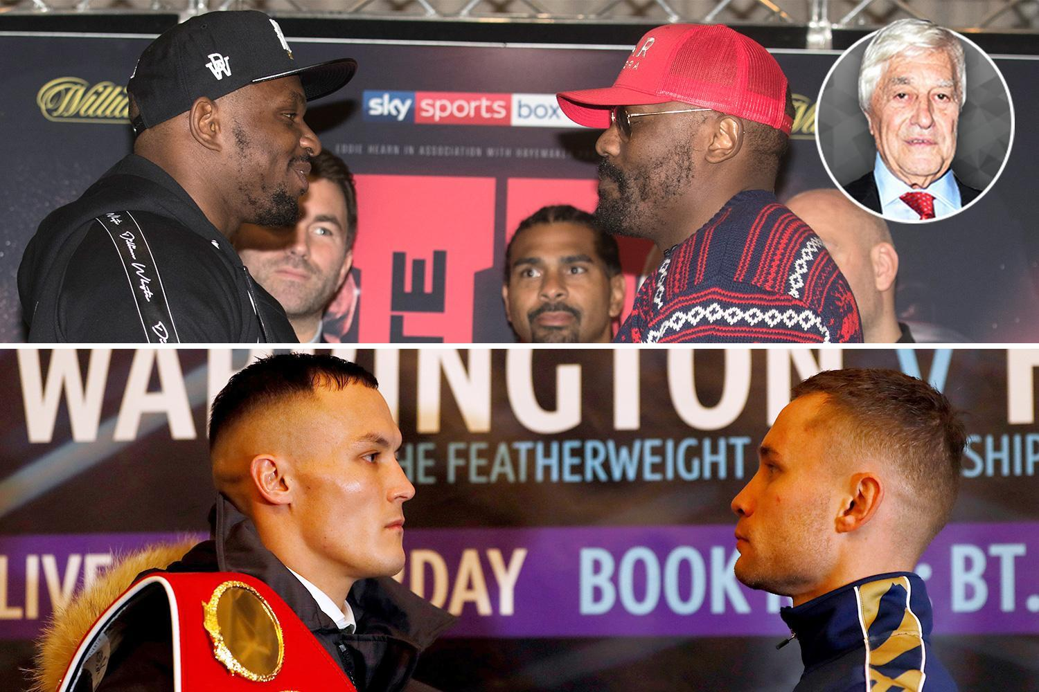 Warrington vs Frampton and Whyte vs Chisora on same night is low blow for boxing