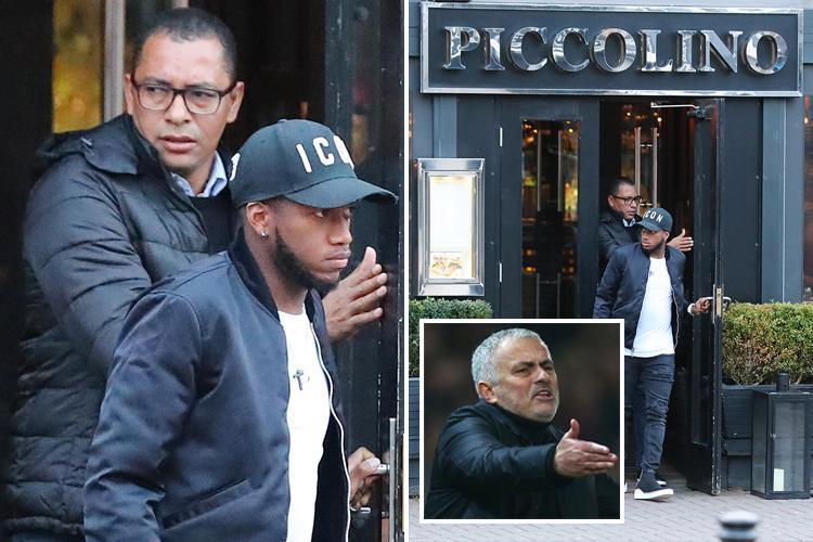 Man Utd outcast Fred meets advisor Gilberto Silva for crisis talks after losing starting spot under Jose Mourinho