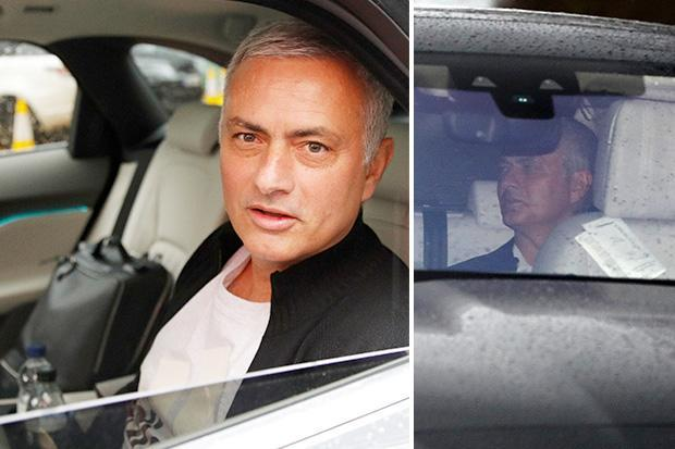 Sacked Jose Mourinho leaves Lowry Hotel for last time with 'goodbye' to fans after Man Utd axe