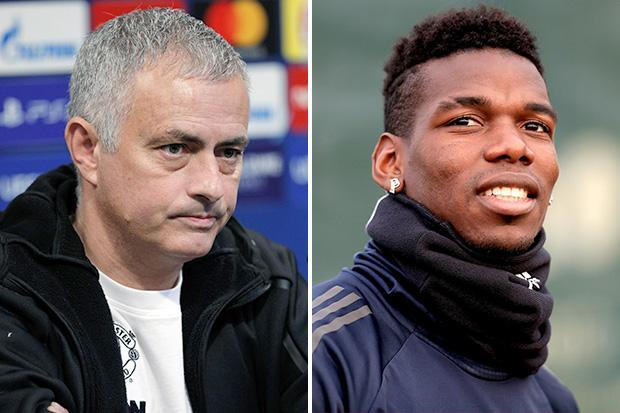 Jose Mourinho angrily refuses to answer why he can't get the best out of Paul Pogba