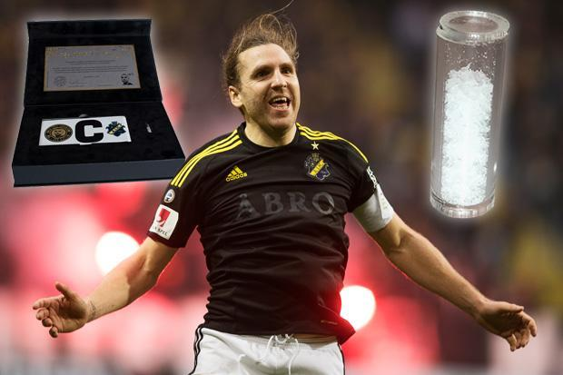 Swedish champions sell former captain's DNA for £307 as a Christmas gift