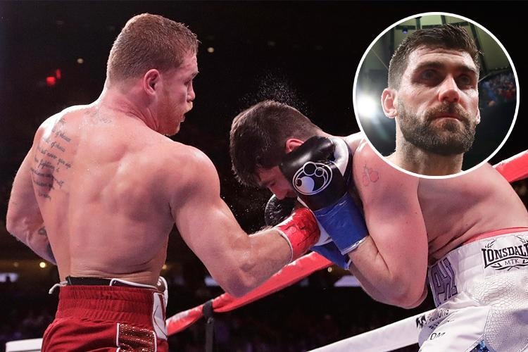 Rocky Fielding admits it was tactically wrong to try and trade with Canelo Alvarez in brutal KO loss