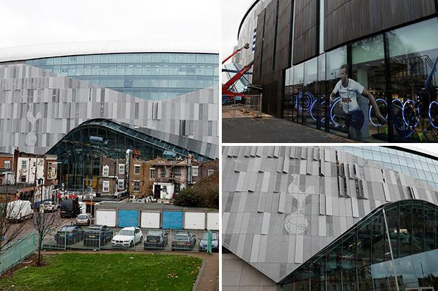 Latest photos show just how huge Tottenham's impressive new ground is