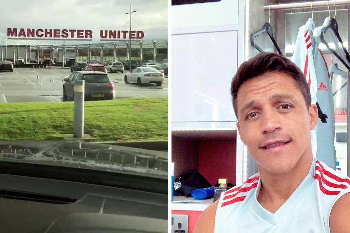 Alexis Sanchez 'aims dig' at Mourinho with music choice on return to Man Utd base