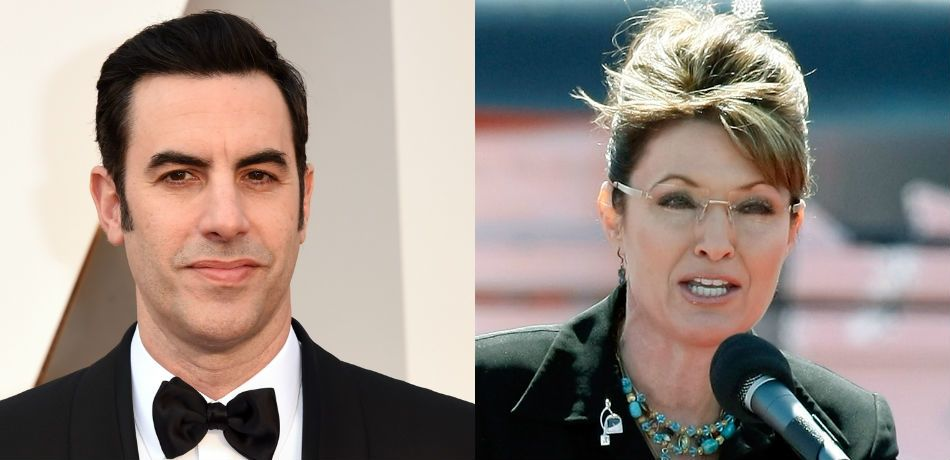 Sacha Baron Cohen Invites Sarah Palin To Be His Date To The 'Golden Globes' After Earning Nod