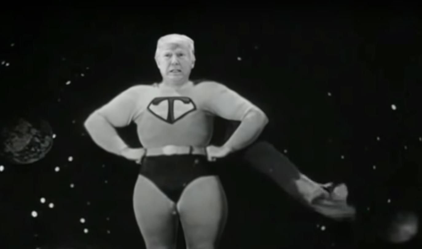 See 'Colbert' Turn President Trump's 'Tariff Man' Boast Into Incompetent Superhero