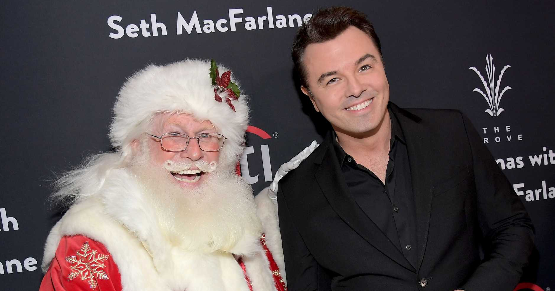 From Leo DiCaprio to Nick Viall: Inside Seth MacFarlane's Christmas Party