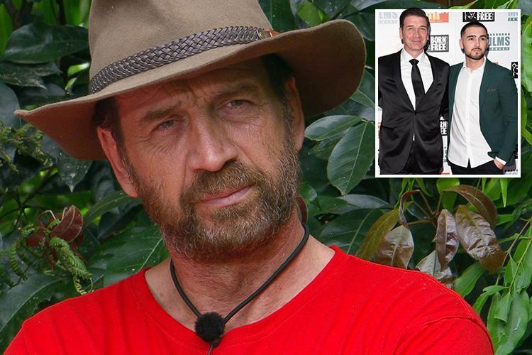 I'm A Celebrity's Nick Knowles defended by son over claims he's 'faking' nice guy persona to win jungle crown