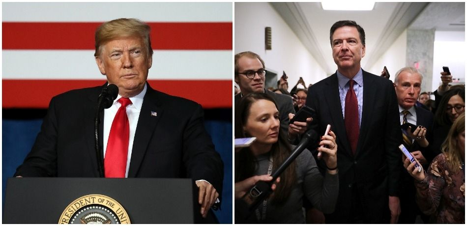 Trump Blasts James Comey On Twitter, Calls His Testimony 'All Lies' Which Are 'Now Exposed'