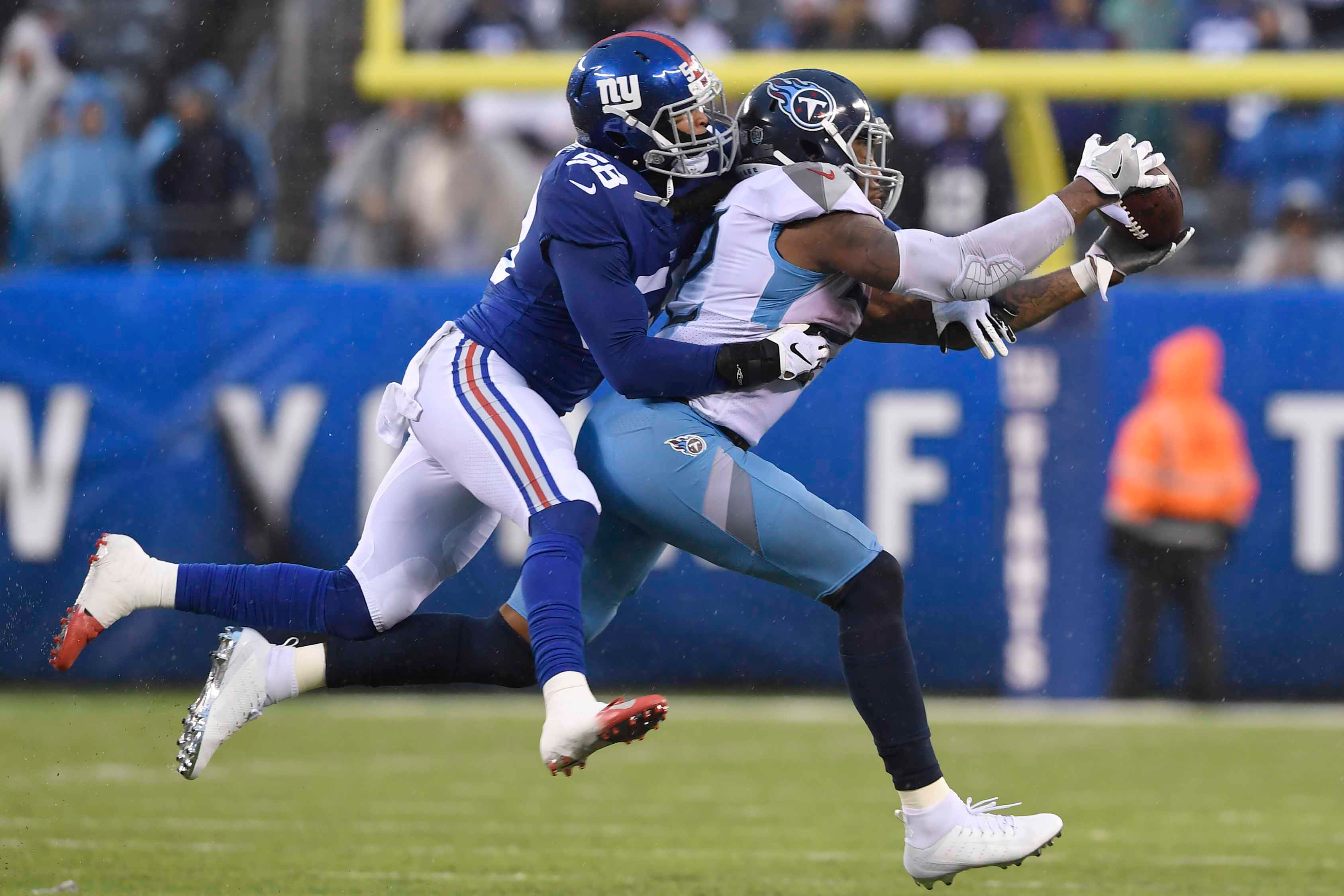 Giants' Tae Davis embraced position switch to thrive at highest level