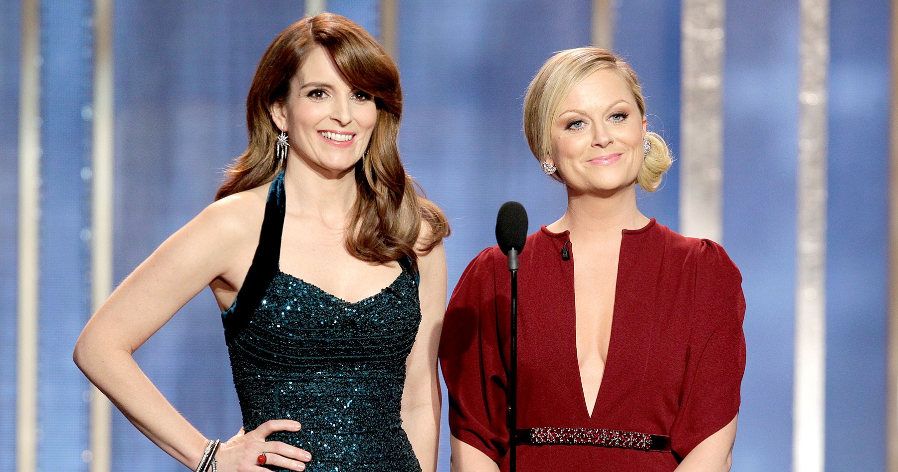 Andy and Sandra! Revisit the Golden Globe Hosts Through the Years