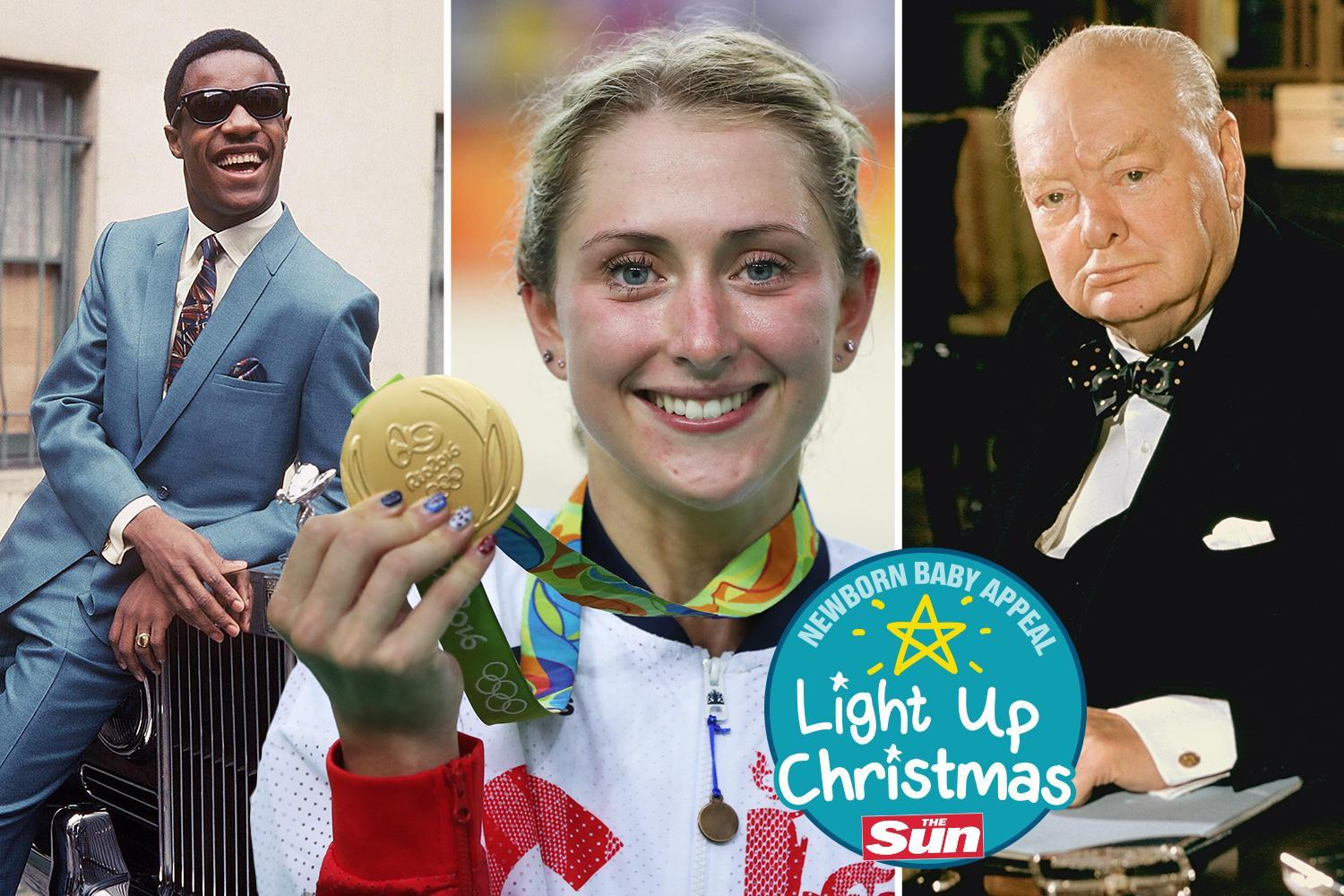 From Stevie Wonder to Laura Kenny and Sir Winston Churchill, we celebrate stars who were born premature and how you can help others