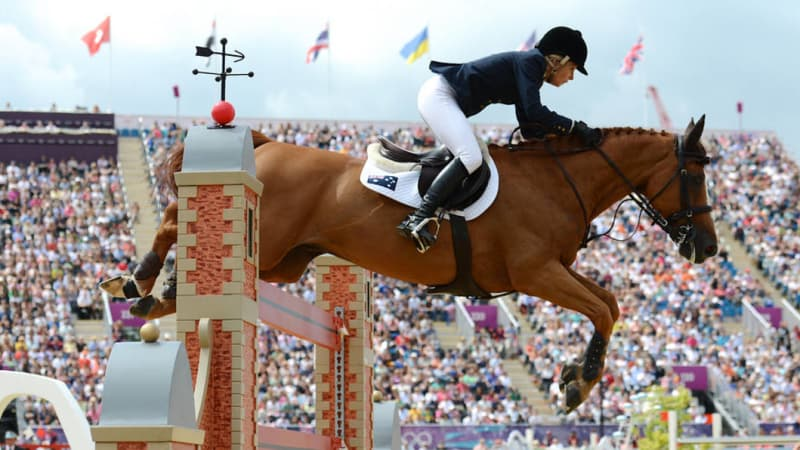 Sydney's Edwina Tops-Alexander beats field of men to win showjumping's richest event