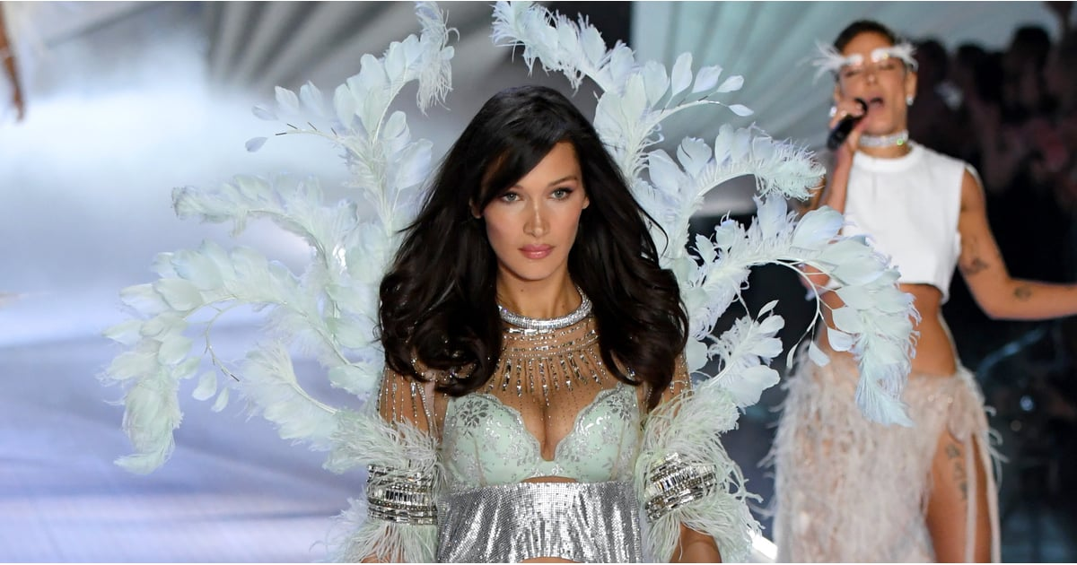 """Bella Hadid's Victoria's Secret Looks Have Me Singing, """"I Can't Feel My Face When I'm With You"""""""