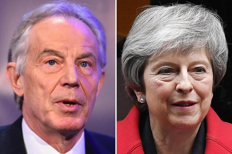 Former Labour PM Tony Blair has advised Theresa May to cancel next week's Brexit vote rather than lose badly