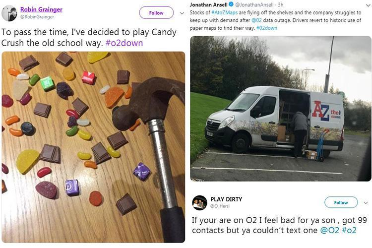 O2 customers mock mobile network over 4G data outage
