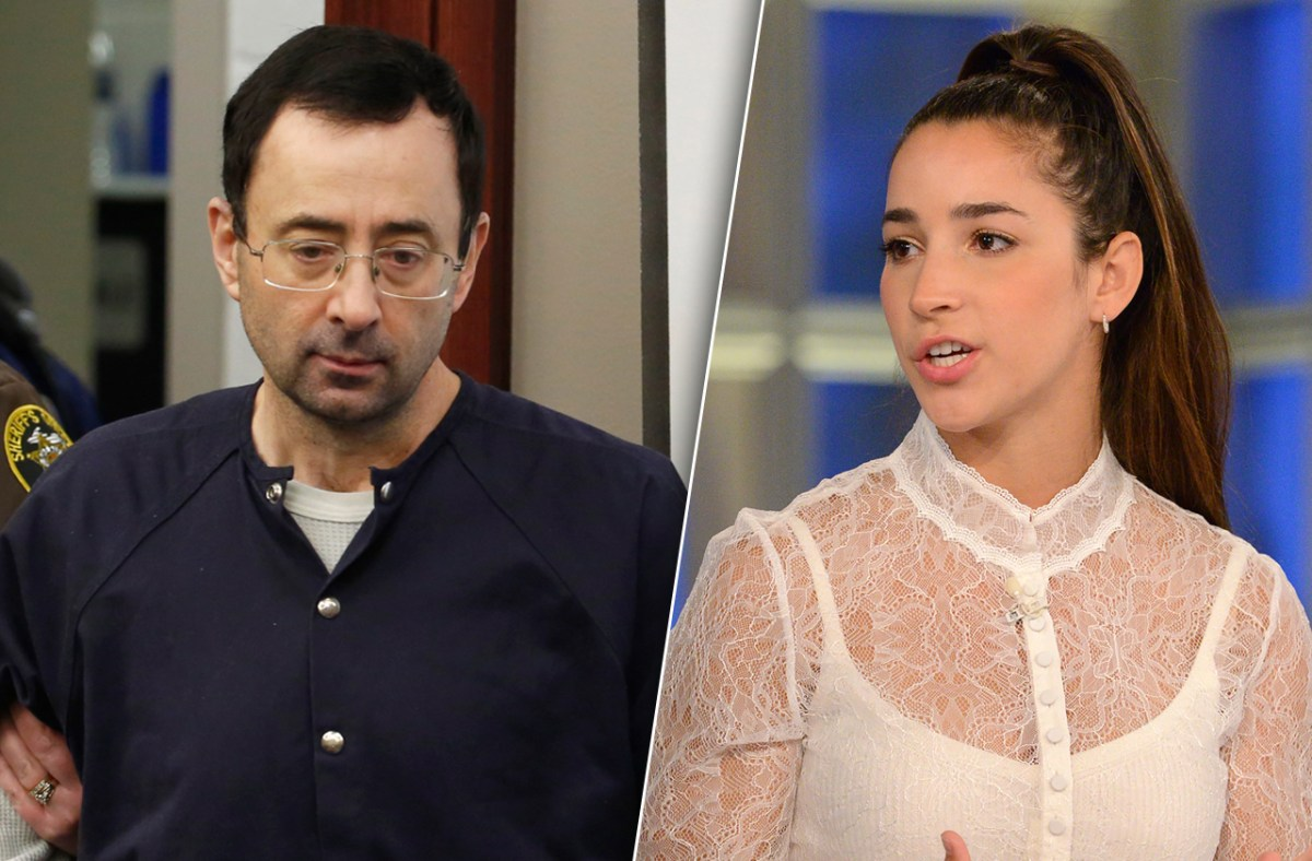 Aly Raisman Fights Monster Doctor Larry Nassar's Pathetic Attempt To Avoid Deposition