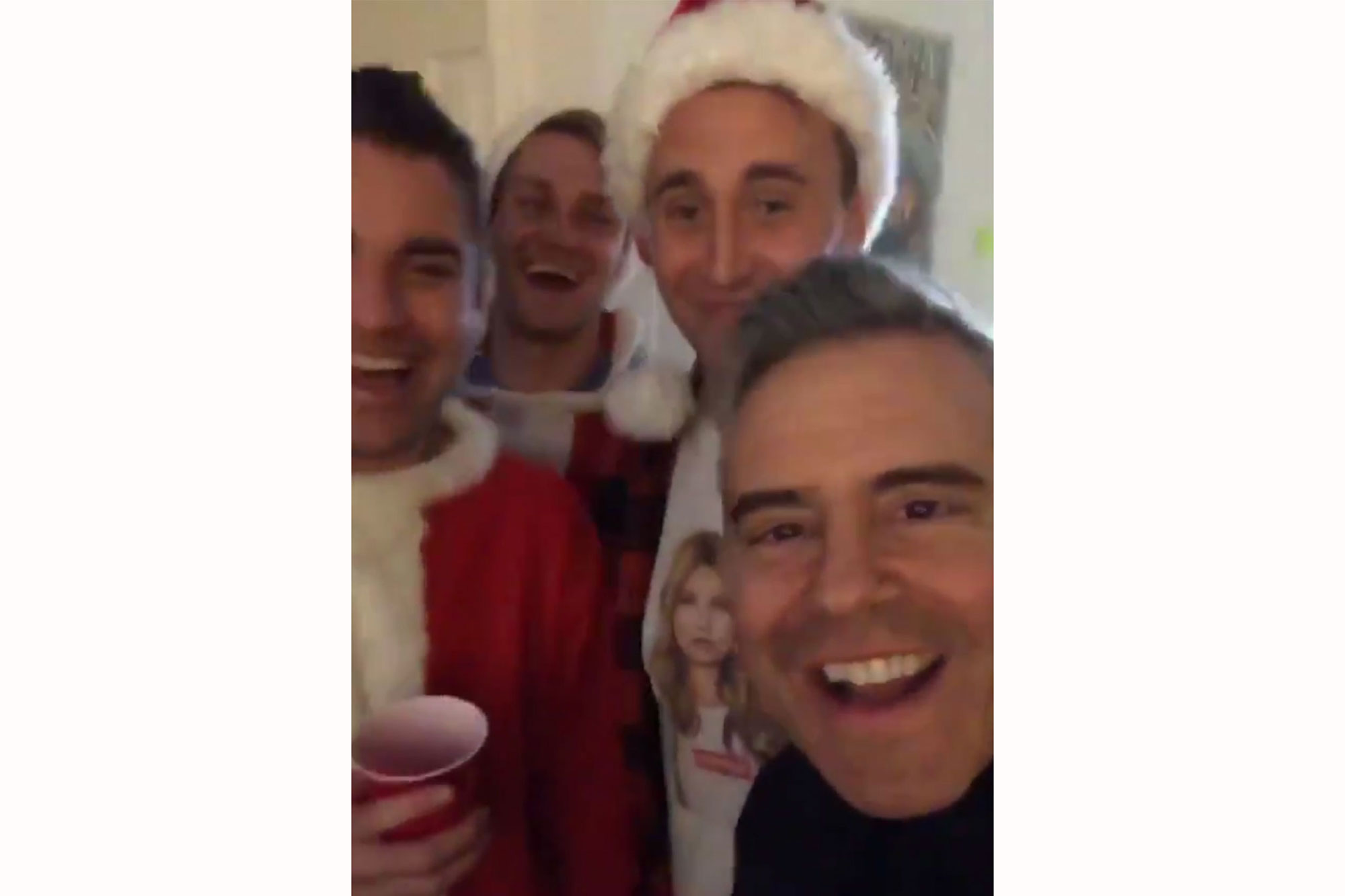 Andy Cohen Crashes a Rowdy SantaCon Party in N.Y.C. — and Brings the Hosts on WWHL!