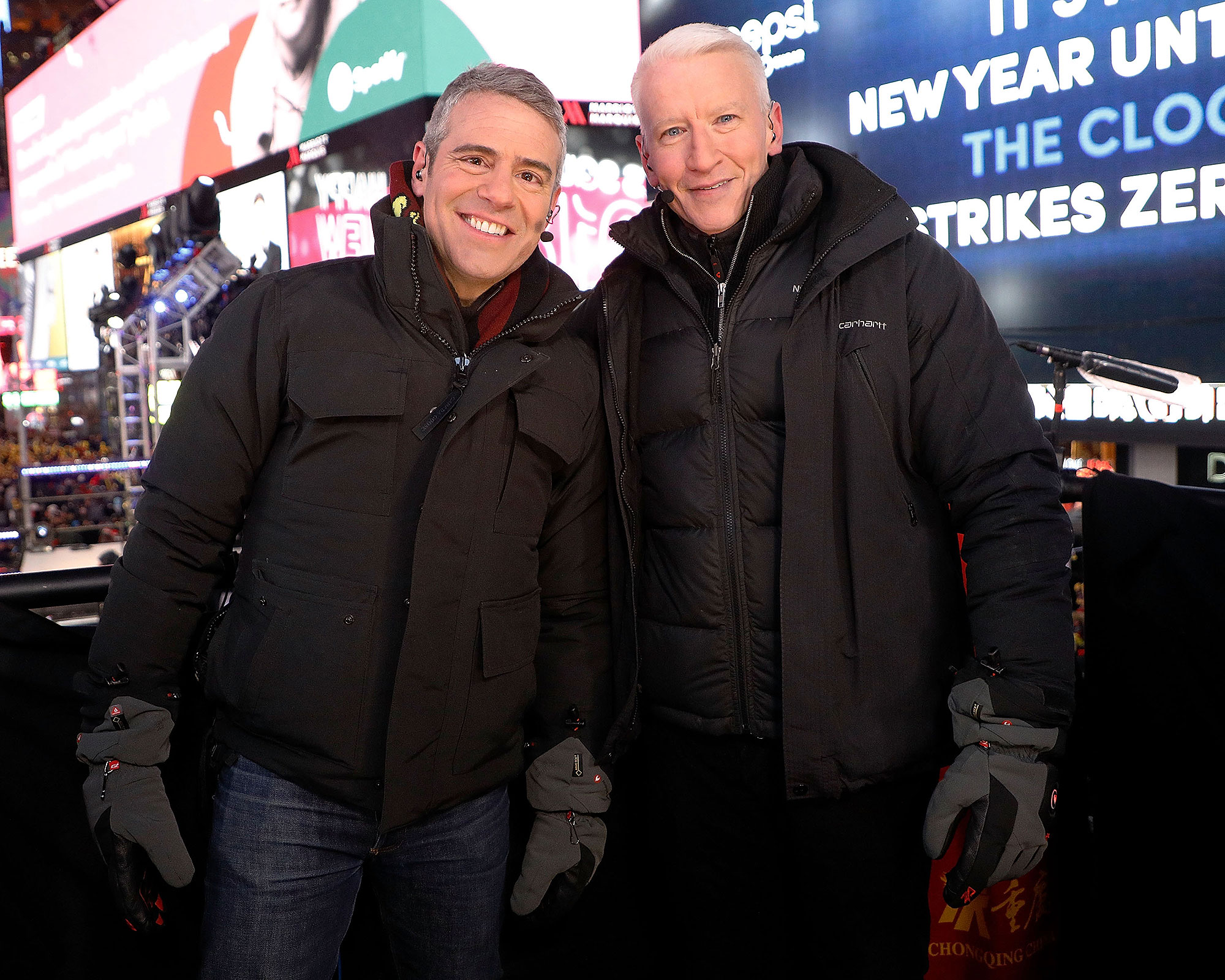 Andy Cohen Says He and Anderson Cooper Have Hooked Up with the Same Guy: 'We're Eskimo Brothers'