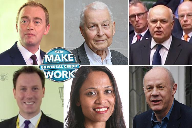 The Sun's Make Universal Credit Work campaign backed by top MPs to help Brits in their 'hour of need'