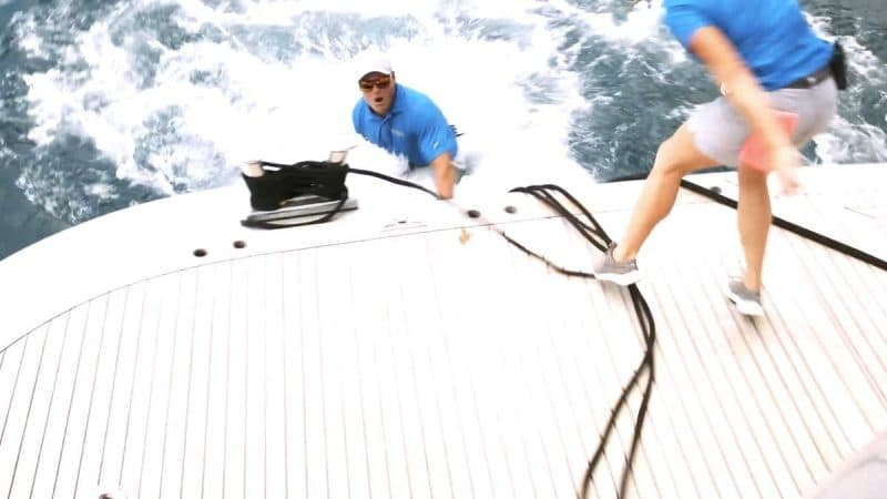 Ashton 'drowning' footage on Below Deck leaves fans terrified deckhand may have died